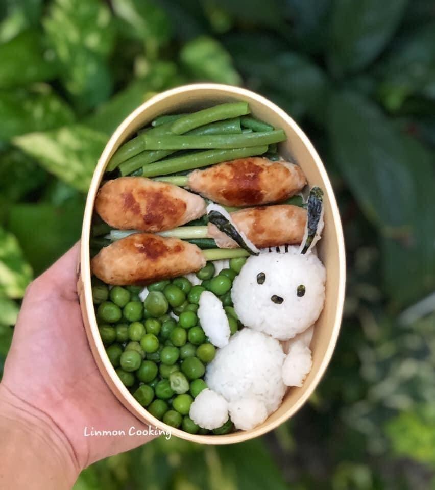 Ngộ nghĩnh những hộp cơm bento cực đẹp của mẹ Việt