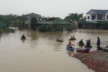 Hỗ trợ Hà Tĩnh 50 tỷ đồng khắc phục hậu quả mưa lũ
