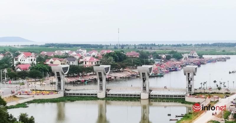 Huyện ven biển Nghệ An đầu tư cơ sở hạ tầng, tăng cường phòng chống thiên tai