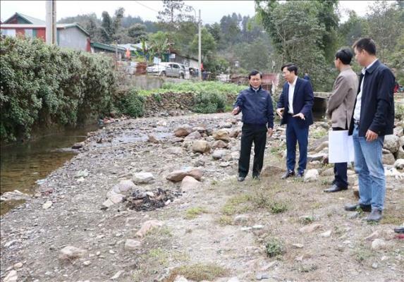Kiểm tra công tác phòng, chống thiên tai và ứng phó rét đậm, rét hại tại Lai Châu