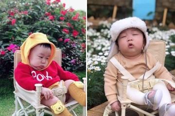 """Thần thái """"bất cần đời"""" của cậu bé 6 tháng tuổi khiến ai cũng tan chảy"""