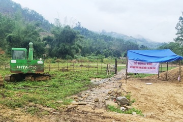 Quảng Nam: Khởi công khu tái định cư cho đồng bào bị sạt lở Trà Leng