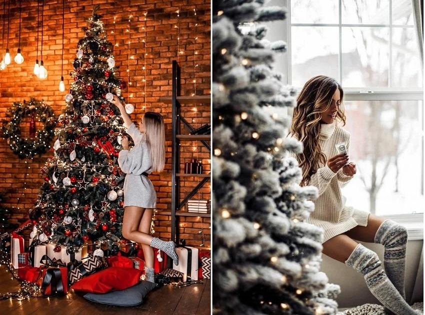 Cách tạo dáng chụp ảnh Giáng sinh 3