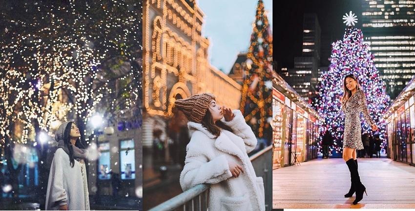 Cách tạo dáng chụp ảnh Giáng sinh 1