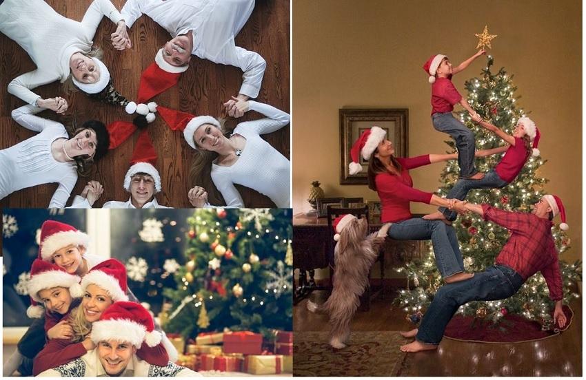 Cách tạo dáng chụp ảnh Noel 2