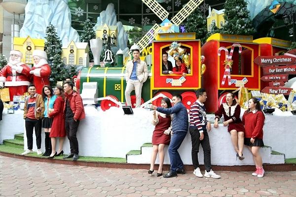 """Đón Giáng sinh và năm mới trên """"chuyến tàu trở lại tuổi thơ"""""""