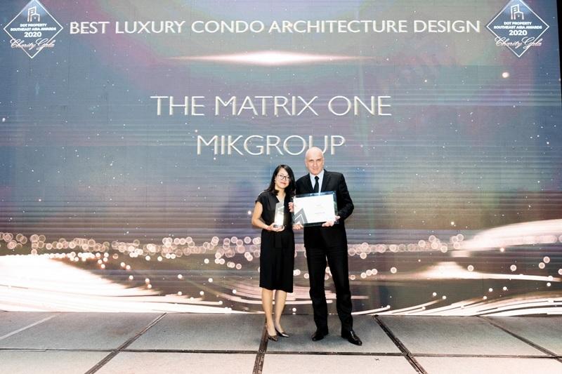 The Matrix One là Dự án hạng sang có thiết kế kiến trúc đẹp nhất Đông Nam Á 2020