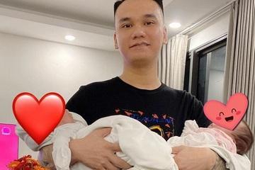 """Khắc Việt được gọi yêu """"ông bố quốc dân"""" vì khéo chăm con"""