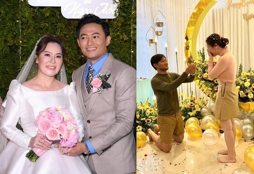 Màn cầu hôn của Quý Bình và những sao Việt gây sốt mạng xã hội