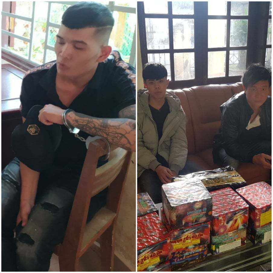 Lâm Đồng: Bắt quả tang 3 đối tượng vận chuyển, mua bán pháo nổ
