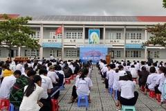 Bà Rịa Vũng Tàu: Bàn giao hệ thống điện mặt trời mái nhà cho trường  Võ Thị Sáu