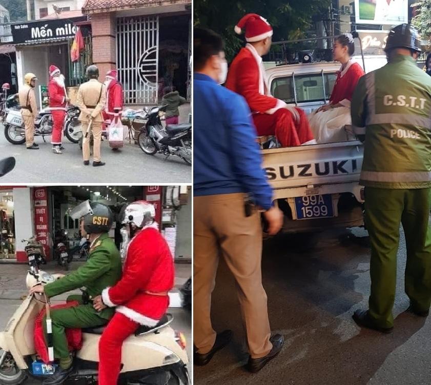 Chùm ảnh hài hước về hành trình tặng quà của 'ông già Noel'