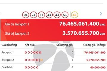 Lại có người trúng Jackpot 2 tiền tỷ, đã có 11 tỷ phú Vietlott trong tháng này
