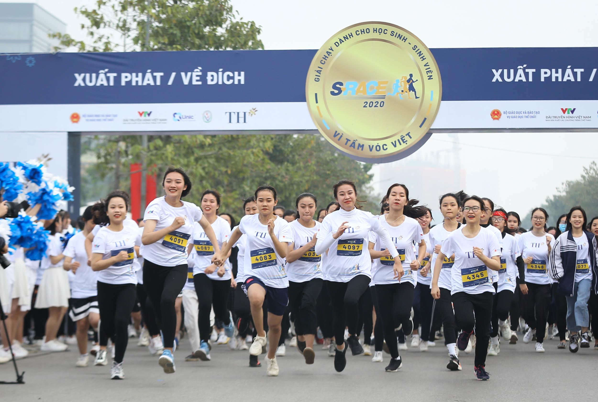 S-Race khởi đầu chuỗi hoạt động thể thao trường học