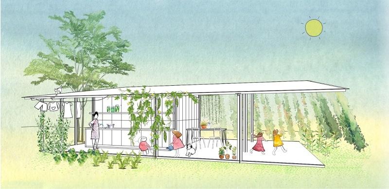Nhà ở xây chỉ hết 50 triệu đồng, thi công 5 ngày, tính ứng dụng cao