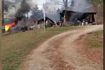 Cảm phục cậu bé 7 tuổi nhảy vào ngôi nhà cháy cứu em gái