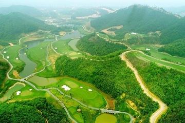 Geleximco Hilltop Valley Golf Club và thiết kế duy trì hiện trạng tự nhiên