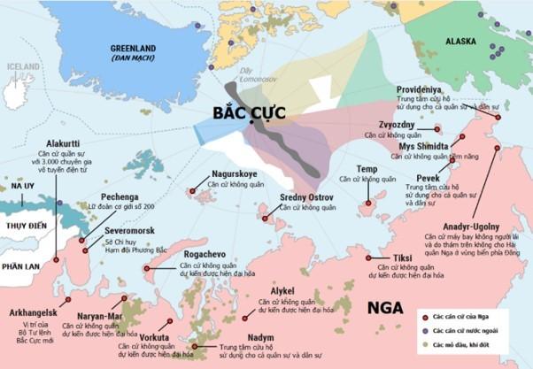 Khám phá 'trò chơi chiến lược' ở Bắc Cực từ góc độ của Nga