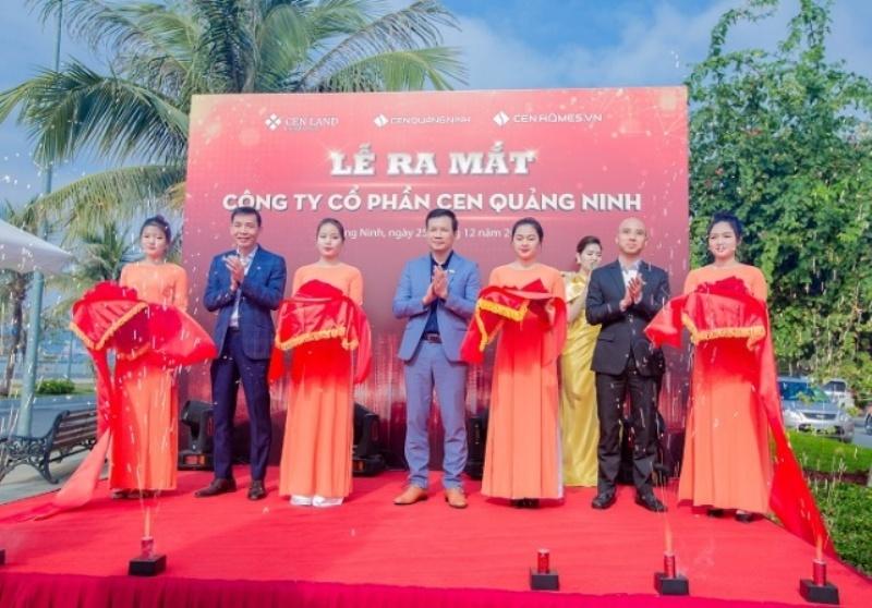 Ra mắt công ty CP Cen Quảng Ninh: Bước chuyển mới nâng tầm vị thế