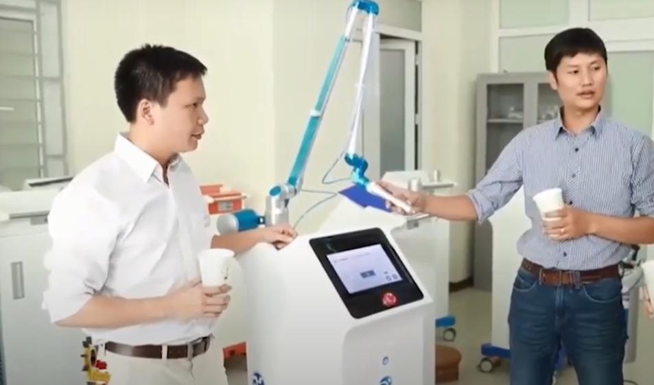 Nghiên cứu plasma lạnh đều điều trị vết thương của Việt Nam