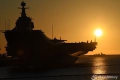 Trung Quốc hiếm hoi công khai tàu sân bay tập trận trong đêm