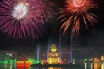 Địa điểm bắn pháo hoa Tết dương lịch 2021 tại Hà Nội