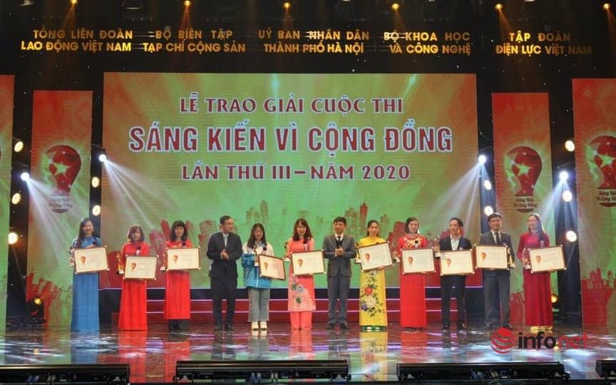 Máy khử men cho chè,Sáng kiến vì cộng đồng,Chu Thị Mai Ly