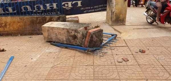 Đắk Nông: Một học sinh lớp 4 tử vong do sập cổng trường