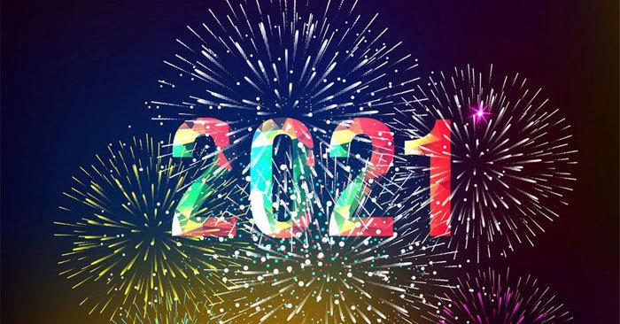 hình ảnh mừng năm mới 2021 2