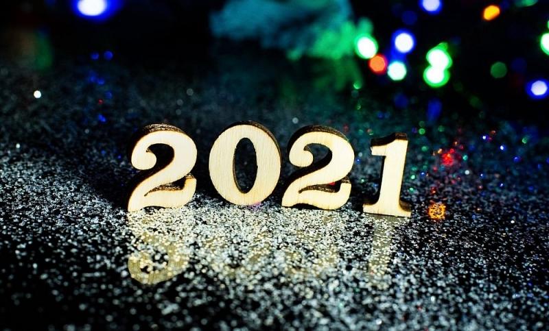 hình ảnh mừng năm mới 2021