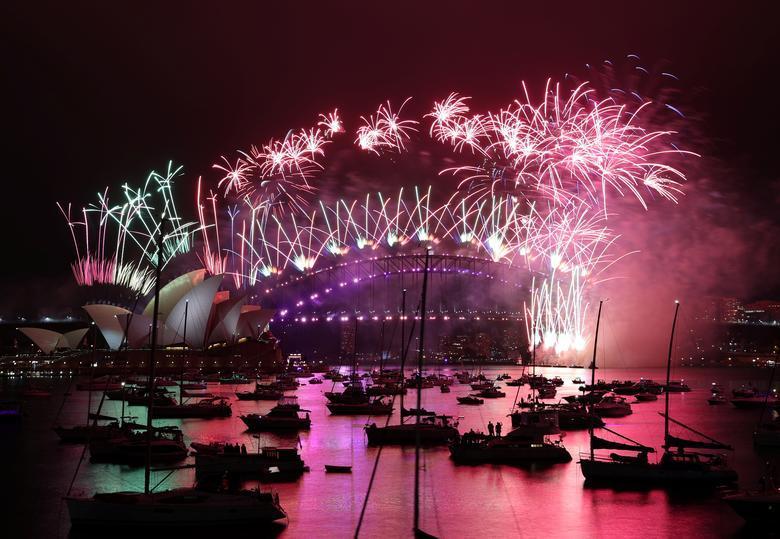 Toàn cảnh thế giới chào đón năm mới 2021