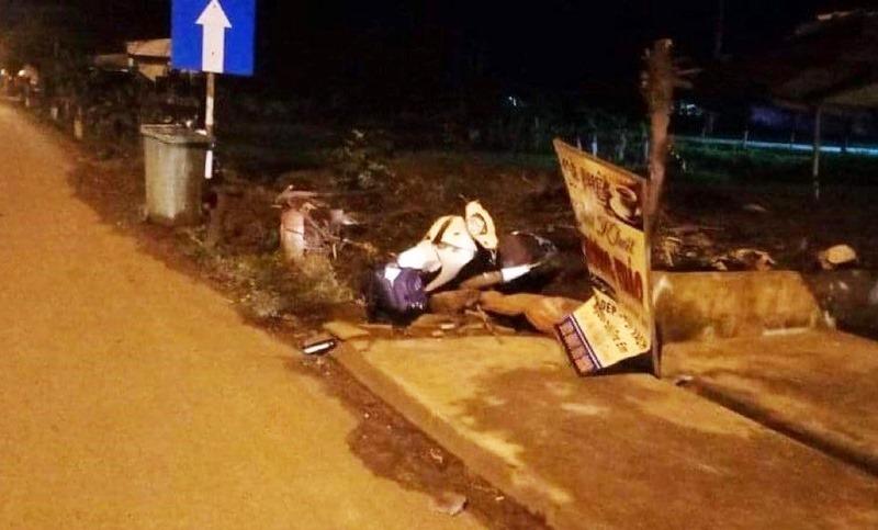 Người đàn ông tử vong lúc rạng sáng trên Quốc lộ 1A ở Quảng Nam