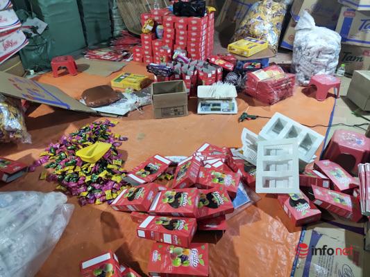 Phù phép hơn 3 tấn bánh kẹo đã 'hết đát' thành hàng mới tuồn ra thị trường