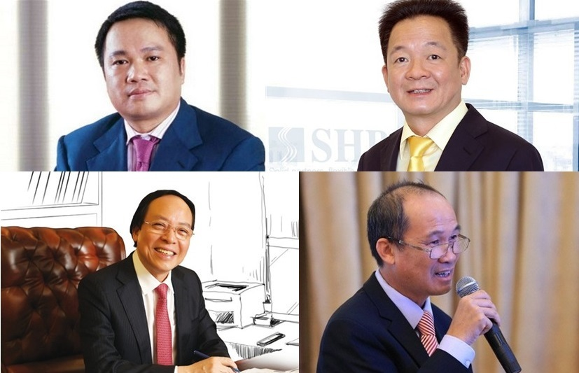 Tài sản của nhóm ông lớn ngân hàng tư nhân tăng vọt sau 1 năm, cộng gộp bằng tài sản cổ phiếu của tỷ phú Phạm Nhật Vượng