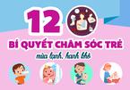 12 bí quyết chăm sóc trẻ mùa lạnh, hanh khô