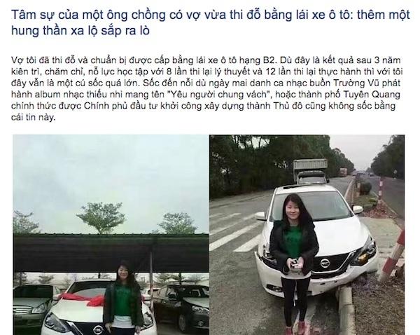 Lắp đèn led cảnh báo 'phụ nữ lái xe': Đừng từ trêu đùa trở thành kỳ thị!