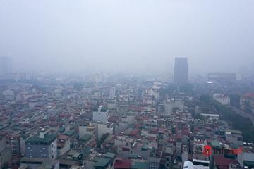 Bắc Bộ tiếp diễn mưa phùn, sương mù, chất lượng không khí mức xấu