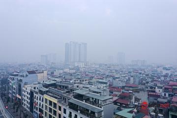 Bắc Bộ ngày nắng hanh, đêm rét, ô nhiễm không khí nhiều nơi mức nguy hại