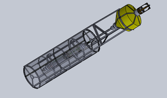 Chế tạo thiết bị chuyển đổi năng lượng sóng biển