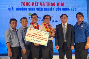 Ứng dụng cảnh báo dịch Covid-19 của sinh viên TP.HCM giành giải nhất sinh viên nghiên cứu khoa học