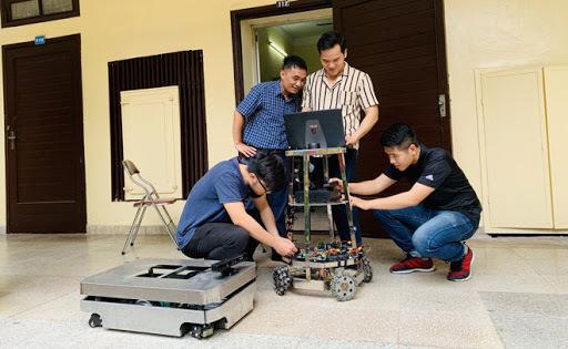Nghiên cứu robot tự hành thông minh AMR