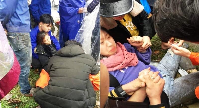 Nghệ An: Hai mẹ con nghi bị chuốc thuốc mê, nằm hoảng loạn bên vệ đường