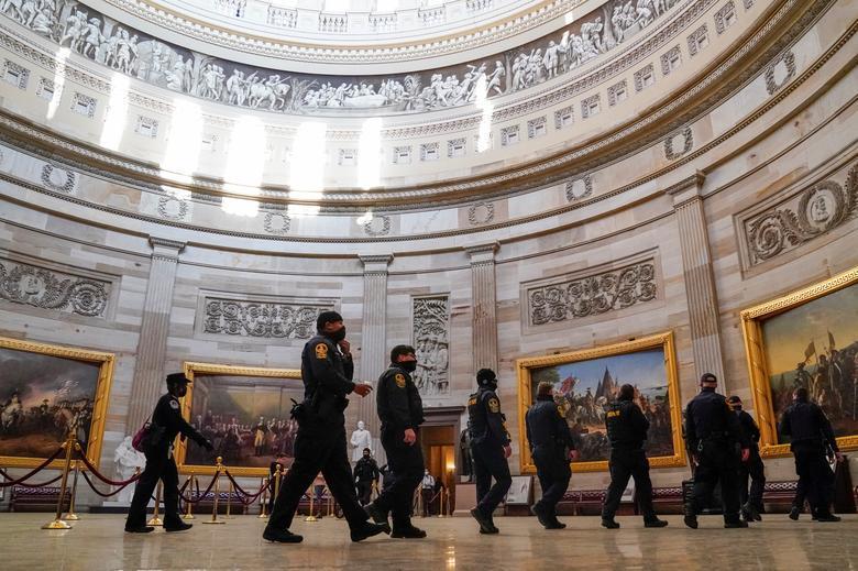 Hậu quả kinh hoàng sau vụ bạo loạn ở Điện Capitol