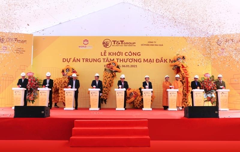 WorldSteel Group: Khởi công xây dựng trung tâm thương mại tại Đắk Nông