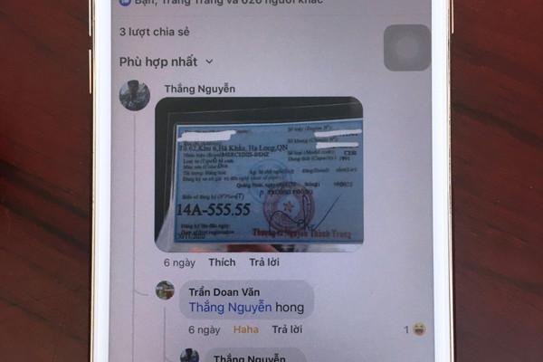 Đăng ảnh đăng ký xe biển ngũ quý 'fake' lên mạng xã hội, bị phạt 5 triệu