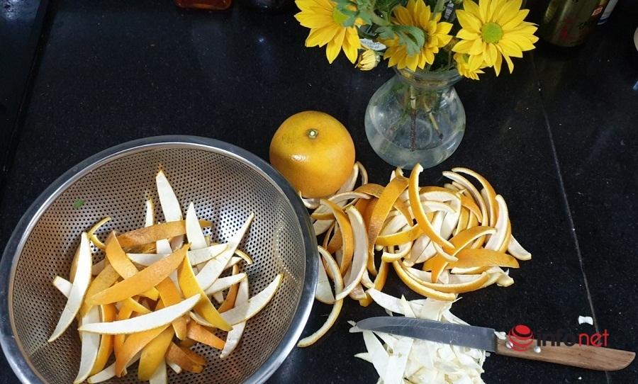 Cách làm mứt vỏ cam