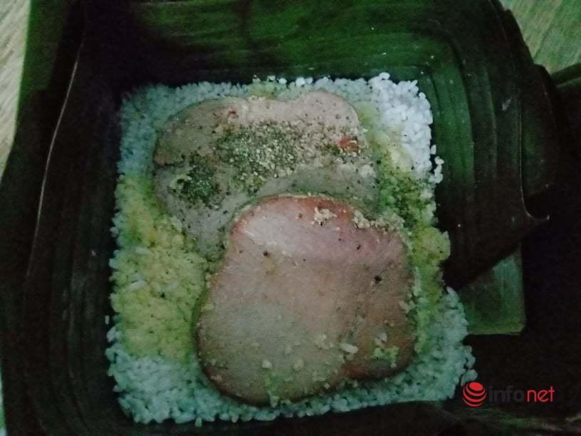 Bánh chưng nhân cá ngừ đại dương khác lạ lần đầu xuất hiện Tết này