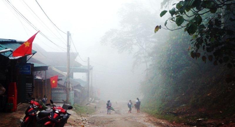 Thời tiết 1- 6 độ C ngang tủ lạnh, huyện biên giới Nghệ An cho học sinh nghỉ học