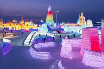 Khung cảnh ngoạn mục ở thành phố băng tuyết Trung Quốc