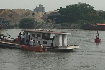 Trung tá CSGT Bắc Ninh hy sinh sau va chạm trên sông